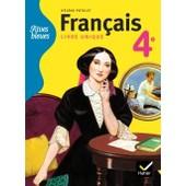 Rives Bleues-Manuel Scolaire Fran�ais-4�me de H�l�ne Potelet