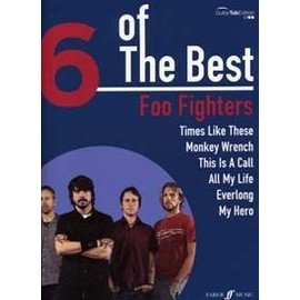 FOO FIGHTERS 6 OF THE BEST TAB