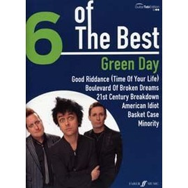 GREEN DAY 6 OF THE BEST TAB