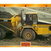 Camions : Fiche �ditions Atlas Caterpillar D250e (Recto: Photo, Verso: Notes Techniques)