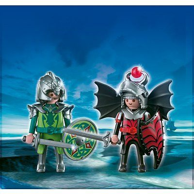 Playmobil 4912 Playmobil Duo Chevaliers Dragons