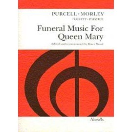 PURCELL FUNERAL MUSIC FOR QUEEN MARY VOCAL SATB SCORE
