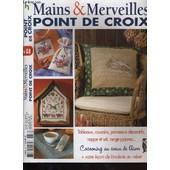 Mains & Merveilles. Le Point De Croix No. 58 de Collectif