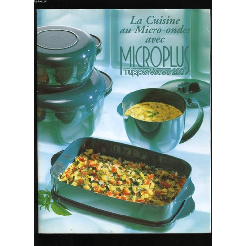 livre recette tupperware microcook