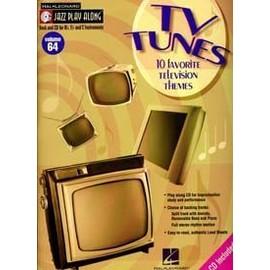 JAZZ PLAY ALONG VOL.64 TV TUNES Bb, Eb, C INST. CD