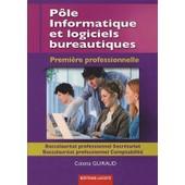 P�le Informatique Et Logiciels Bureautiques - Premi�re Baccalaur�at Professionnel Secr�tariat Et Comptabilit� de Colette Guiraud