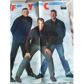 POSTER TOP 50 FINE YOUNG CANNIBALS/ DAVID HASSELHOFF