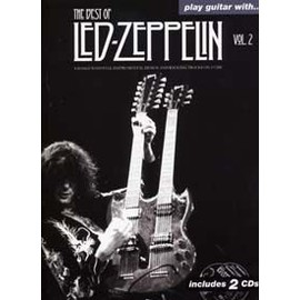 LED ZEPPELIN BEST OF VOL.2 PLAY GUITAR WITH TAB 2 CD