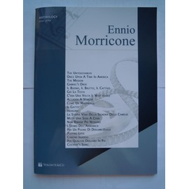 Anthology Piano Guitare Ennio Morricone 20 titres