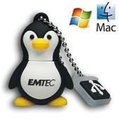 Cle USB 4Go EMTEC Animal Series