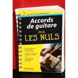 Accords de guitare pour les Nuls - Antoine Pollin