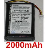 Batterie Pour Logitech Mx1000 Cordless Mouse, P/N: L-Lb2 **2000mah**