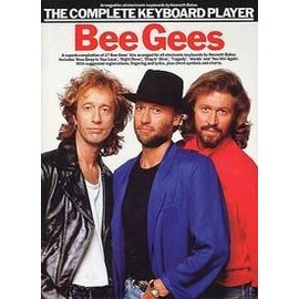 BEE GEES COMPLETE KEYBOARD PLAYER