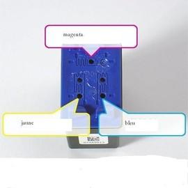 Kit De Recharge Couleur Pour Hp 344 - 3x30ml + 1 Seringue