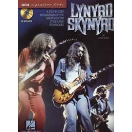 LYNYRD SKYNYRD SIGNATURE LICKS GUITAR TAB CD
