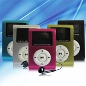 Mini baladeur MP3 �cran LCD 1.1 - 4 Go