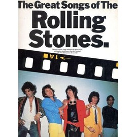 The great songs of the Rolling Stones. Wise publication. 1984.