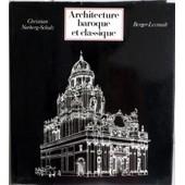 Architecture Baroque Et Classique de Norberg-Schulz, Christian