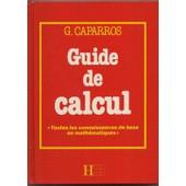 Guide De Calcul de Caparros Gerard