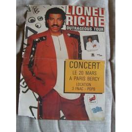 Poster NRJ Lionel Richie / Cock Robin