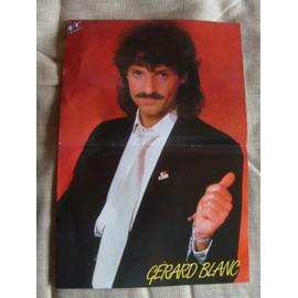 Poster Podium Gérard Blanc
