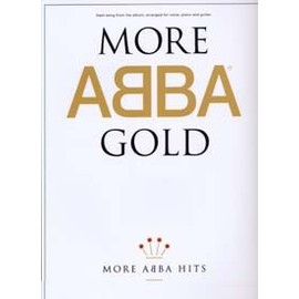 More Abba Gold Piano, Vocal & Guitar (with Chord Boxes)