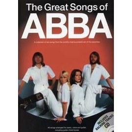 ABBA GREAT SONGS OF PVG CD