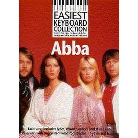 ABBA EASIEST KEYBOARD COLLECTION