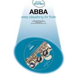 GUEST SPOT JUNIOR ABBA EASY PLAYALONG FLUTE CD