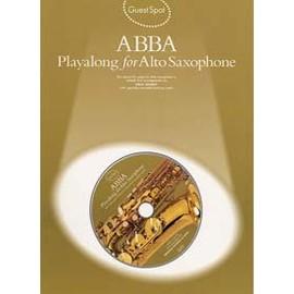 GUEST SPOT ABBA SAX ALTO CD
