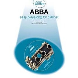 GUEST SPOT JUNIOR ABBA EASY PLAYALONG CLARINET CD