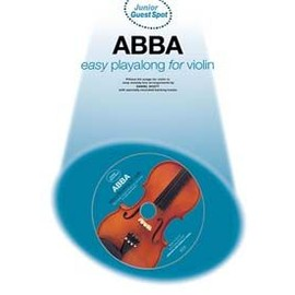 GUEST SPOT JUNIOR ABBA EASY PLAYALONG VIOLIN CD