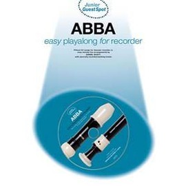 GUEST SPOT JUNIOR ABBA EASY PLAYALONG RECORDER CD