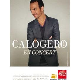 affiche de Calogero tournée 2010 (version 2)