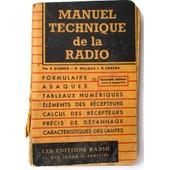 Manuel Technique De La Radio de E. Aisberg