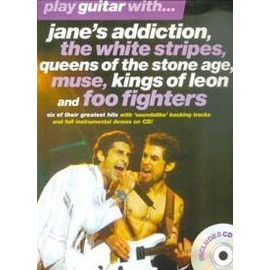 PLAY GUITAR WITH JANE'S ADDICTION, WHITE STRIPES, MUSE...TAB CD