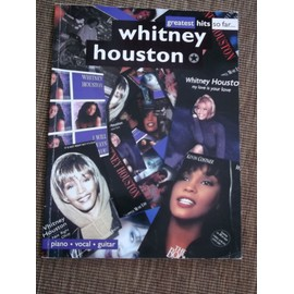 The Greatest Hits Of Whitney Houston Piano, Vocal & Guitar (with Chord Boxes)