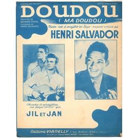 doudou (ma doudou) / partition originale 1949 (piano et chant) / henri salvador, jil et jan