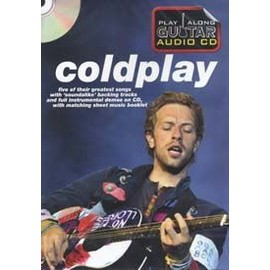 COLDPLAY PLAY ALONG GUITAR AUDIO CD (format boitier DVD)