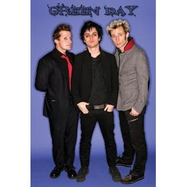 Green Day Poster - Groupe (91x61 cm)