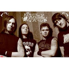 Bullet For My Valentine Poster - Tears Don T Fall, Groupe De Musique (61x91 cm)