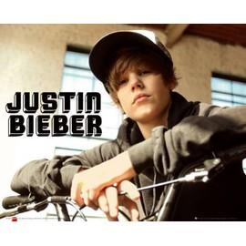 Justin Bieber Mini Poster - Bike, One Time (40x50 cm)