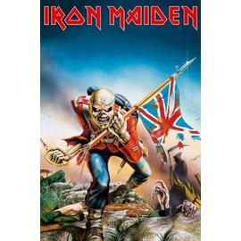 Iron Maiden Poster - The Trooper (91x61 cm)