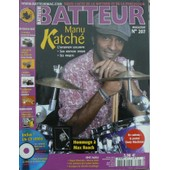 Batteur Magazine N� 207 : Manu Katche L'interview Exclusive