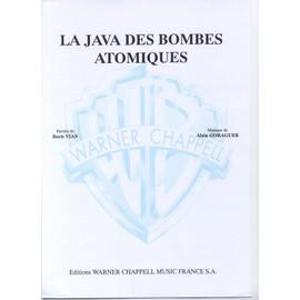 Vian, Boris- JAVA DES BOMBES ATOMIQUES (la