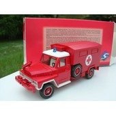Solido 1/50 Metal Acmat 4x4 Ambulance Pompier Ref2189