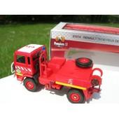 Solido Metal Pompier Camion Renault 4x4 75130