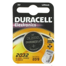 Pile Bouton Duracell Cr2032 3v Lithium