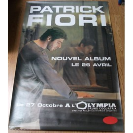 Le nouvel Album de Patrick Fiori