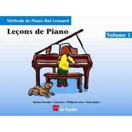 LECONS DE PIANO HAL LEONARD VOL. 1 + CD